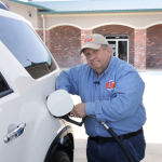 Filling Gas Tank Color