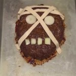 Frightening Halloween Meatloaf